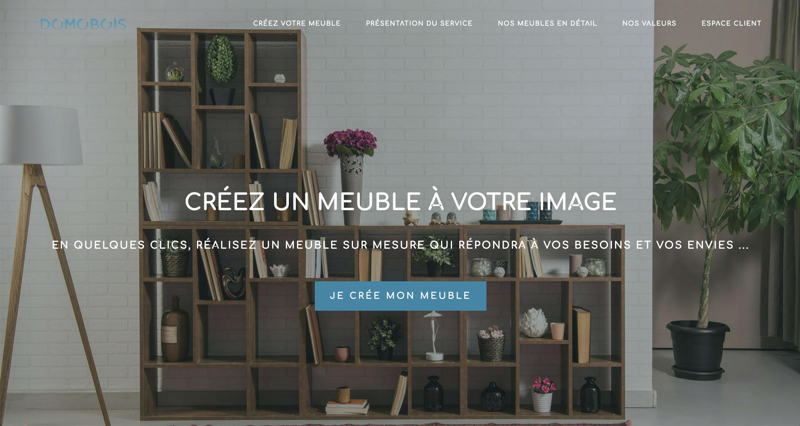 Domobois Site Web