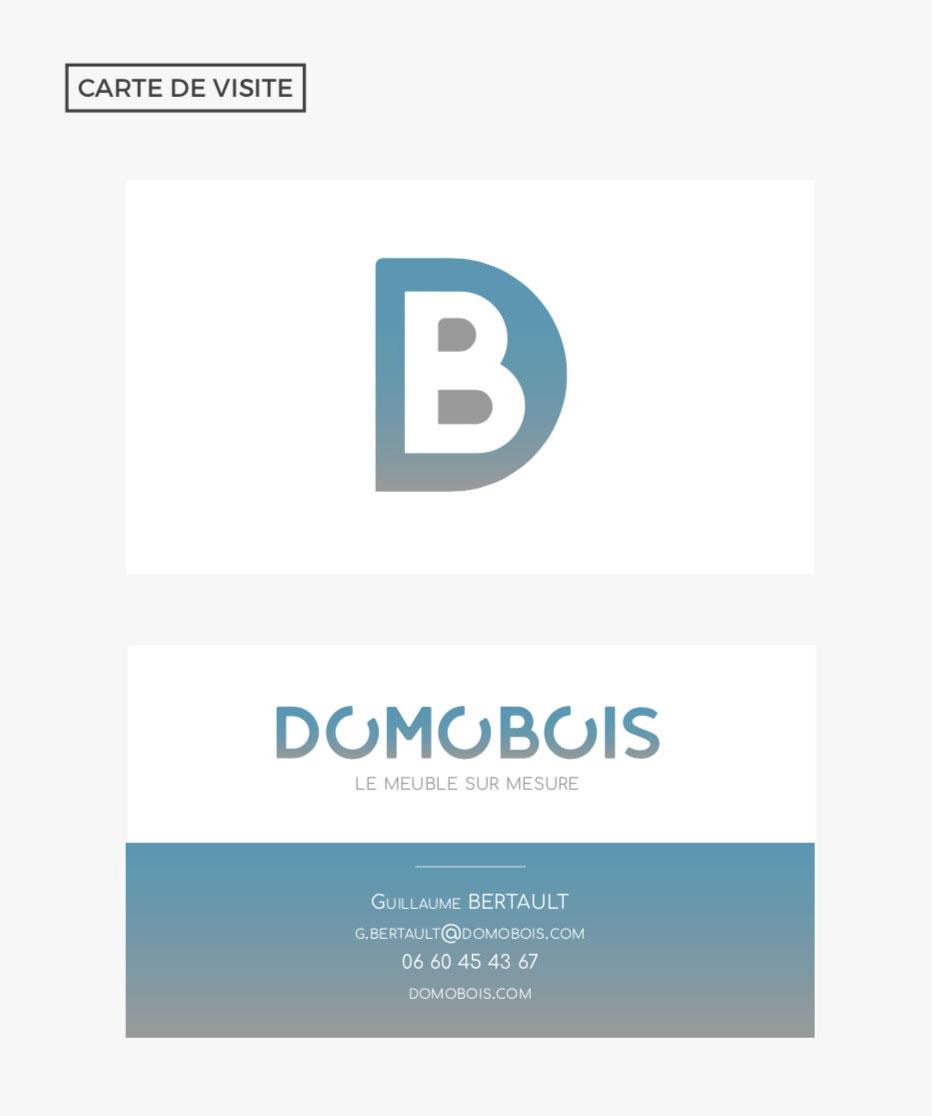 Domobois Carte de Visite