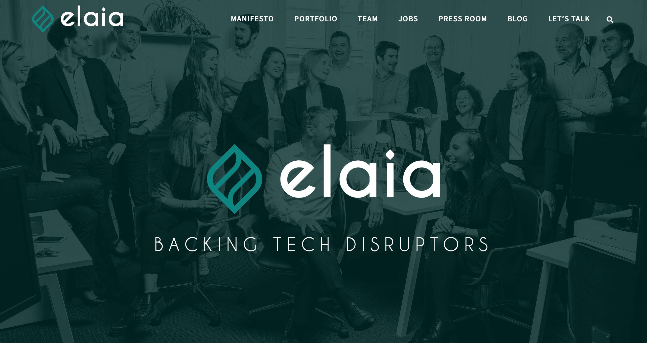 Elaia Site Web